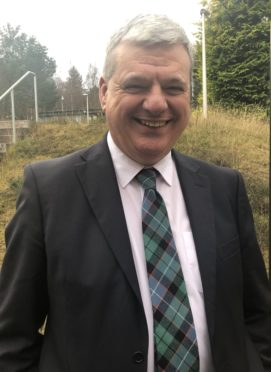 Professor Ken Russell new depute principal of Inverness College UHI.