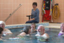 Nina Campbell, chairperson of the Dingwall Puffin Pool user's group.