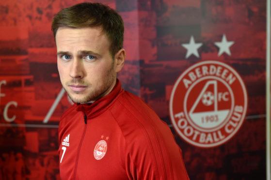 Aberdeen forward Greg Stewart.