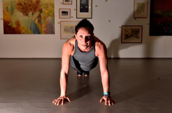 Louise McCullough, at Aberdeen ARI, where she works in orthopedics.