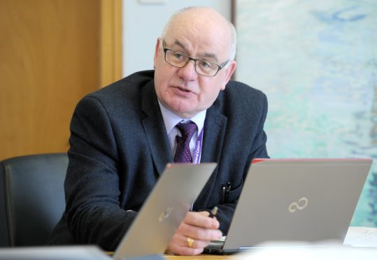 Highland Council Budget Leader, Councillor Alister Mackinnon.