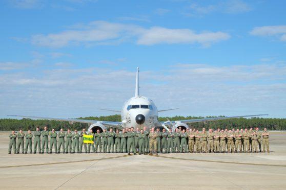 RAF crews have arrived in Florida.