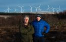 George Heraghty and Mark Holdsworth from Save Wild Moray