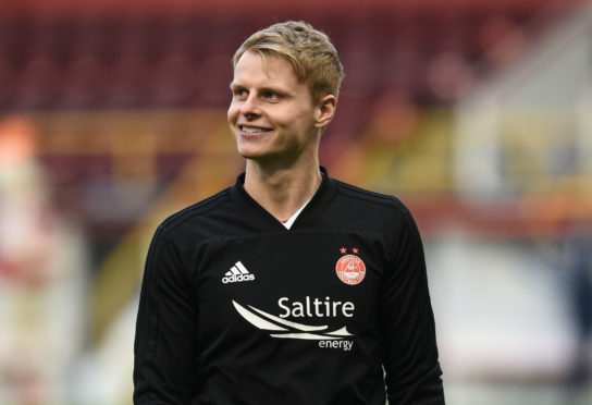 Aberdeen midfielder Gary Mackay-Steven.