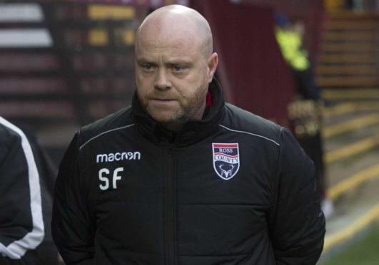 Ross County co-manager Steven Ferguson