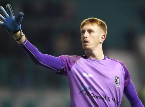 Elgin City goalkeeper Thomas McHale.