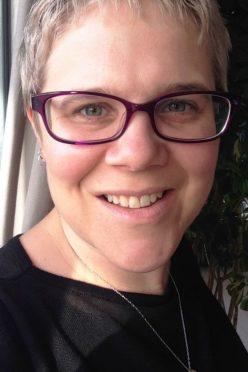 Clare Morrison of NHS Highland.