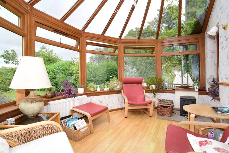 Conservatory: The ideal spot to admire the extensive garden grounds