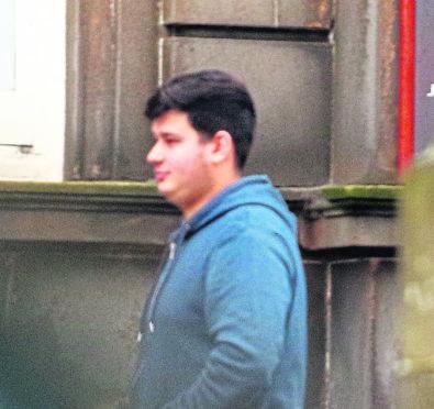 David Cioban at court.