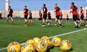 Dons in Dubai: Watch our video update from Aberdeen's first full day at their Middle East training camp