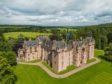 Fyvie Castle, near Turriff in Aberdeenshire