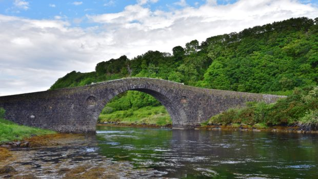 Bridge over the Atlantic, Clachan-Seil
