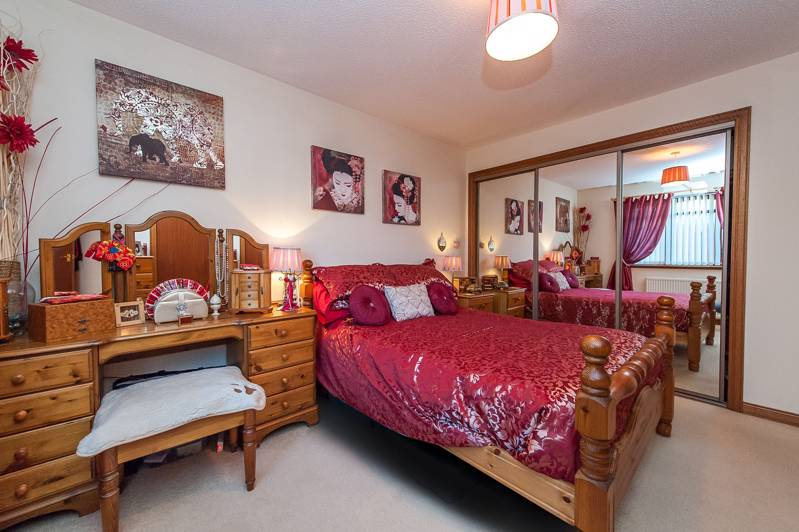 Master Bedroom: Offers mirror fronted fitted wardrobes and is further enhanced with an en-suite shower room