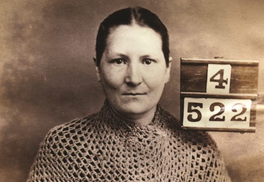 25-year-old Matilda Brown, incarcerated for assault and robbery.