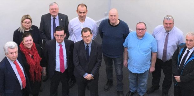 """""""The whole city is behind them"""" united support for the Stoneywood paper mill"""