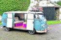 VW Camper. Picture by Colin Rennie.