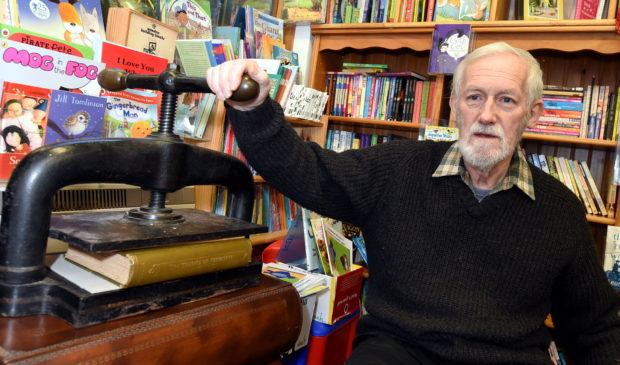 Bill Kelly, owner of Better Read Books in Ellon.