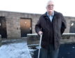 Ken Campbell, Westhill, has been trying to get more dropped kerbs installed throughout Westhill.