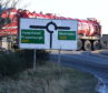 A number of signs on the old A90 have still to be updated. (Picture by Chris Sumner)
