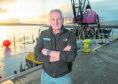 Managaging Director of Caldive Ltd in Invergordon, Iain Beaton.