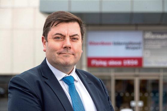 Aberdeen International Airport managing director Steve Szalay.