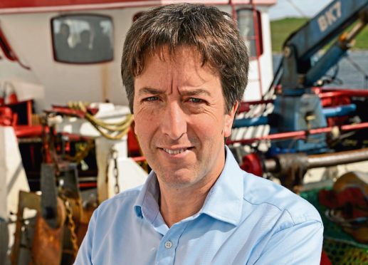Shetland Fishermen's Association chief exec Simon Collins.
