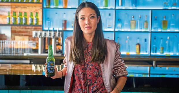 Strong demand for its non alcoholic lager  is delivering a profits boost to Dutch brewing giant Heineken