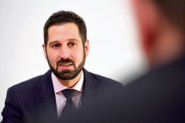 Stefano Vincini, corporate finance associate director in Johnston Carmichael's Aberdeen office.