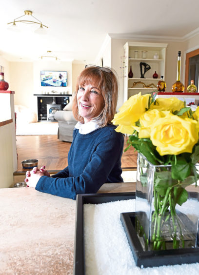 Picture by SANDY McCOOK  11th Feb' 19 Your Home. June Macdonald in her home at 36 Redwood Crescent, Inverness.