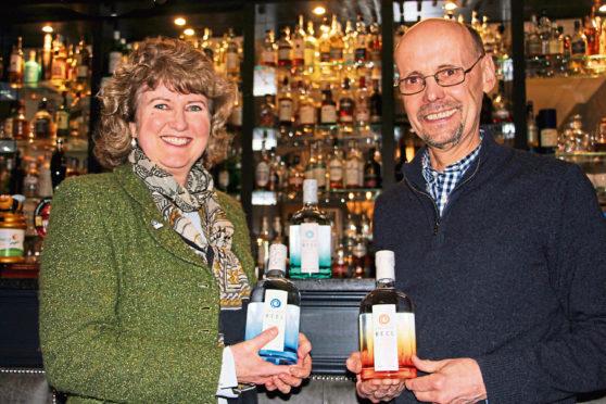 Shetland Distillery - Debbie Strang & Stuart Nickerson