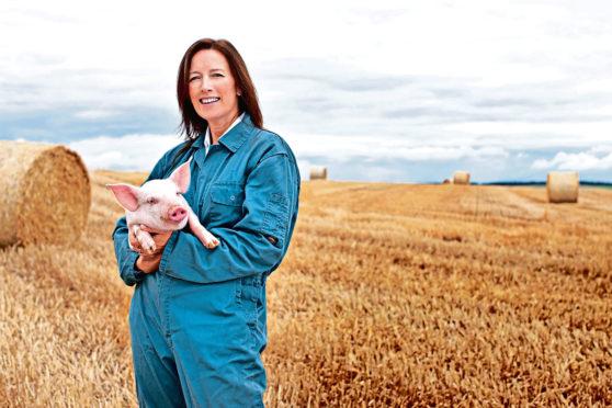 Pig vet Grace Webster