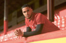 CR0006357  Pittodrie Press Call. Pictured is AFC's Max Lowe. 26/02/19 Picture by HEATHER FOWLIE
