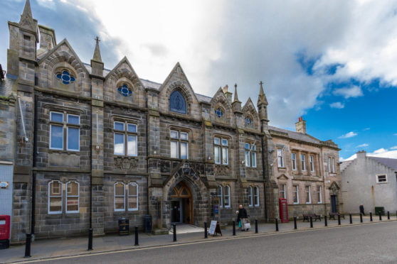 The Caithness Horizons Museum building in Thurso, which closed its doors to the public at the end of February