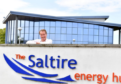 Mike Loggie, Chief Executive of Saltire Energy.