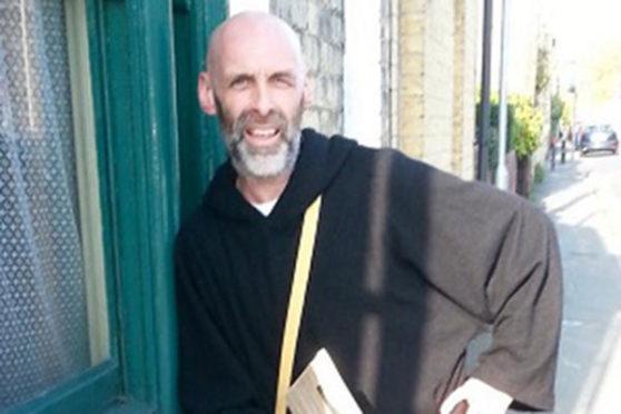 Monk man Damon Kelly