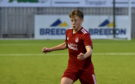 Connor Barron opened the scoring for Aberdeen.