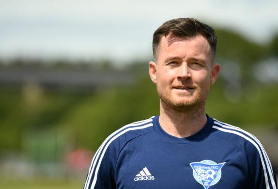 Peterhead defender Paddy Boyle.