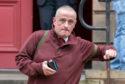 Bryan Miller leaving Elgin Sheriff Court