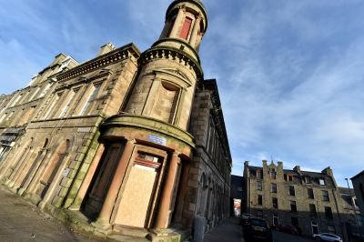"""Work on the Faithlie Centre in Fraserburgh is due to resume """"shortly"""" according to the council report."""