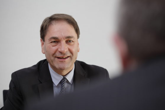 Gordon MacLure, Restructuring Partner based in Johnston Carmichael's Aberdeen office,