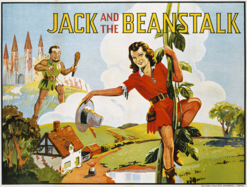 Jack and the Beanstalk Color Print (Photo by  Swim Ink 2, LLC/CORBIS/Corbis via Getty Images)