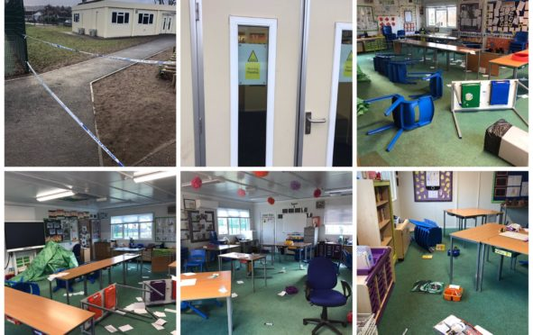 Parents have slammed the traumatic Lochardil Primary  disaster drill after children were left upset following the event