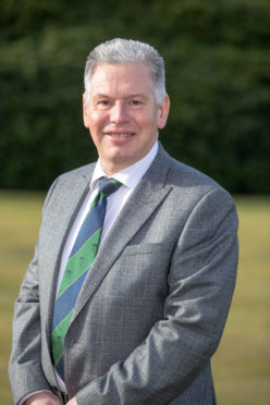 Frank Coutts is the new captain of the PGA in Scotland