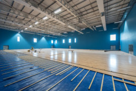 First pictures of Moray Sports Centre in Elgin, Moray.