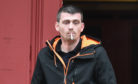 Shaun Smith pictured outside of Elgin Sheriff Court in Moray.