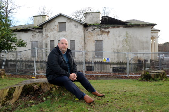 Gavin Esslemont has launched the Save Westburn House Action Group, designed to take over Westburn House .