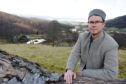 Mike Spencer-Nairn of Eagle Brae, Struy who has concerns about a potential two windfarm development near Strath Glass.