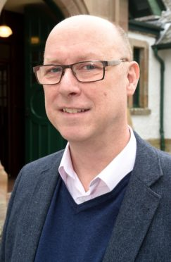 Paul Rooney of Liverpool Hope University, was called as an expert witness for SNH yesterday. Picture by Sandy McCook