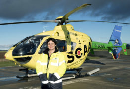 Cara Baird, SCAA Regional Fundraising Manager for the North East of Scotland.