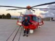 Pilot to tackle London Marathon for children's cancer charity.